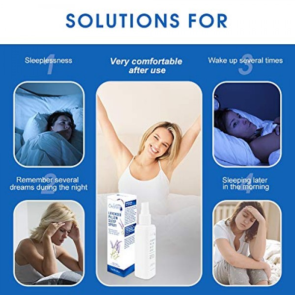 #1 HALL OF FAME RECOMMENDED - Ökostein Lavender Deep Sleep Aid Pi...