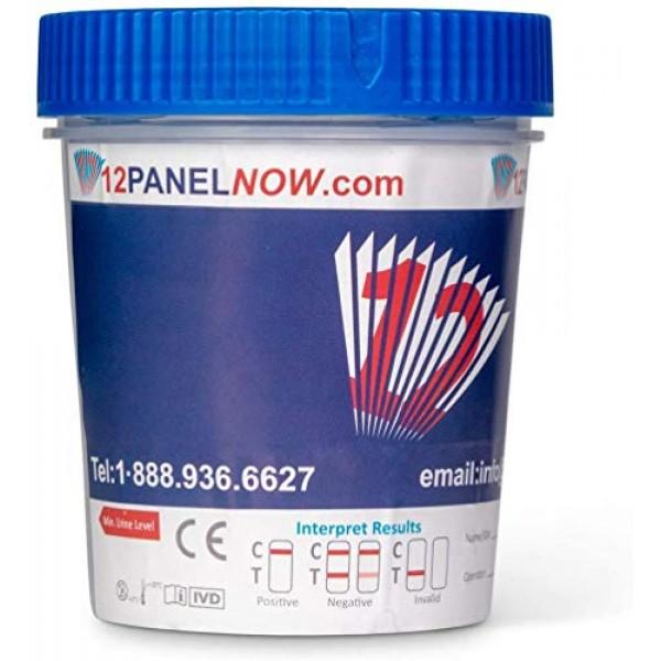 [100 Pack] 12 Panel Diagnostic Multi Drug Screen Cup   Drug Scree...