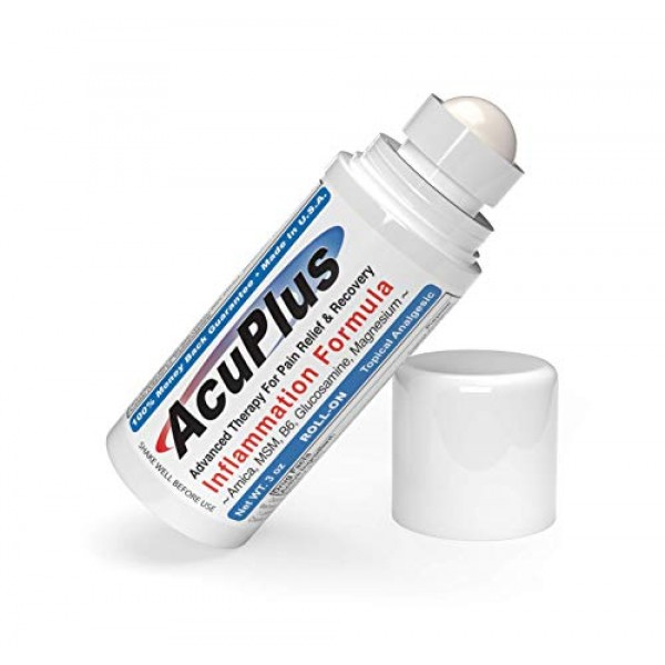 AcuPlus Pain Relief Roll-on - Advanced Fast Acting, Long Lasting ...