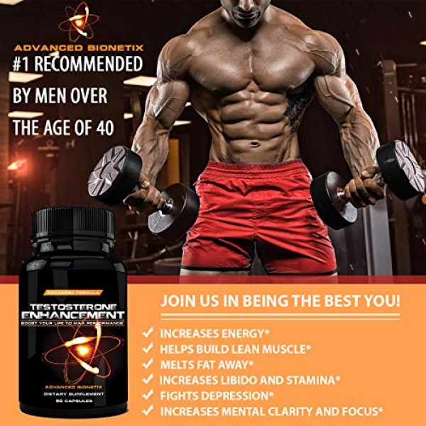 #1 Recommended by Men Over The Age of 40* T Boost Ma...