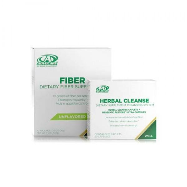 AdvoCare Herbal Cleanse & Fiber CITRUS kit   Herbal Cleanse 20 ...
