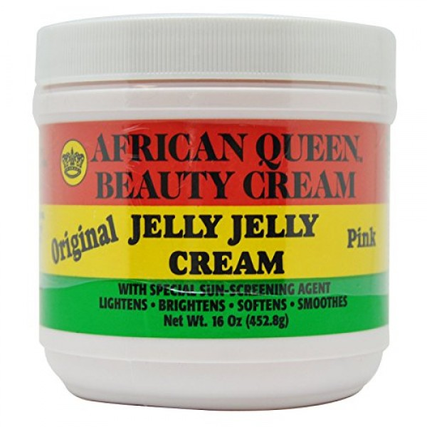 African Queen Beauty Cream Original Jelly Jelly Cream Pink 16 Oz ...