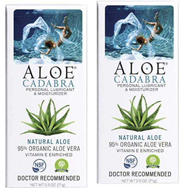 Aloe Cadabra Natural Personal Lube, Organic Best Lubricant Oral G...