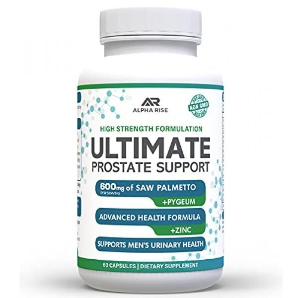 Ultimate Prostate Support - Prostate Health Supplement for Men - ...