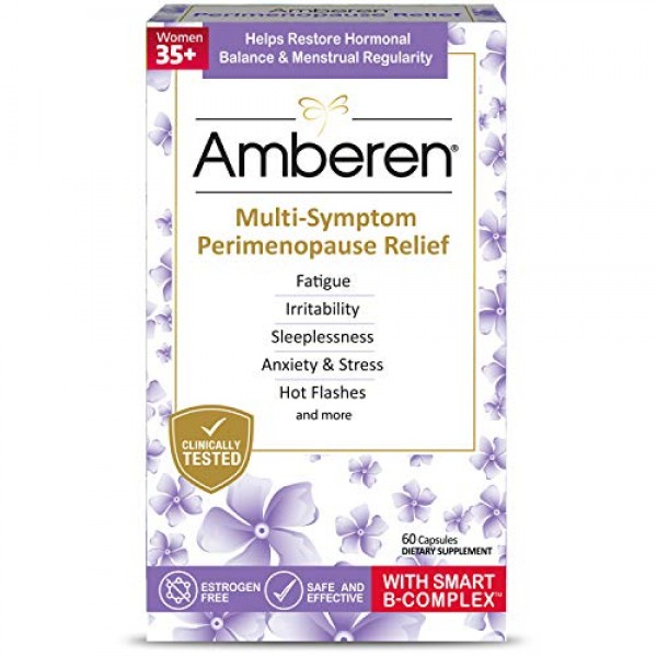 Amberen Peri: Safe Multi-Symptom Perimenopause Relief | Helps Res...
