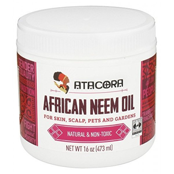 Atacora - African Neem Oil Sustainably harvested Cold Pressed Tra...
