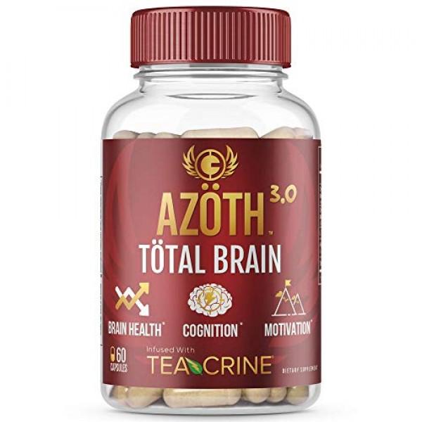 AZOTH 3.0 Total Brain Supplement - Support Peak Cognitive Perform...