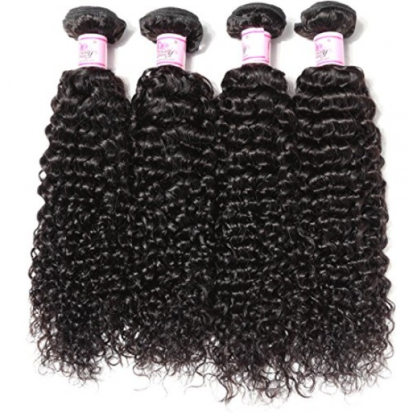 Beauty Forever Hair 8A Malaysian Jerry Curly Hair Weave 3 Bundles...