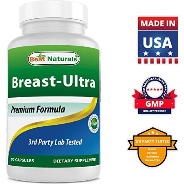 Best Naturals Breast-Ultra Breast Enlargement Pills 90 Capsules