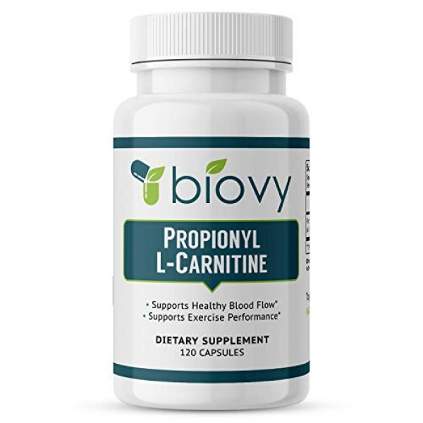 High Absorption Propionyl-L-Carnitine PLCAR by BiovyTM - No Art...