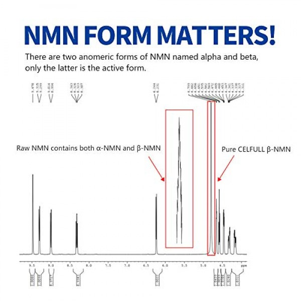 CELFULL Toxicity Tested β-NMN 330mg Per Serving Max Dosage + Abso...