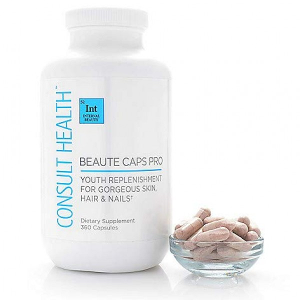 Consult Health Beaute Caps PRO for Youthful Skin, Hair & Nails - ...