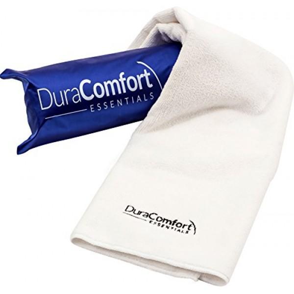 DuraComfort Essentials Super Absorbent Anti-Frizz Microfiber Hair...