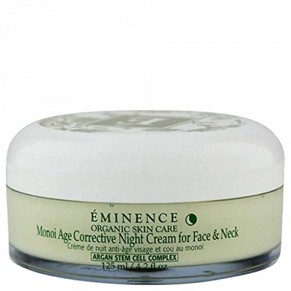 Eminence Monoi Age Corrective Night Cream For Face & Neck 4.2 Fl....