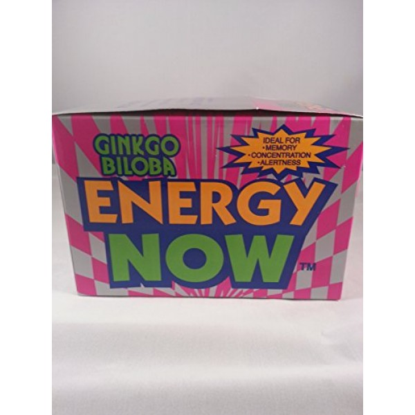 Energy Now Ginkgo Biloba 48 Packets 3 Tablets Each