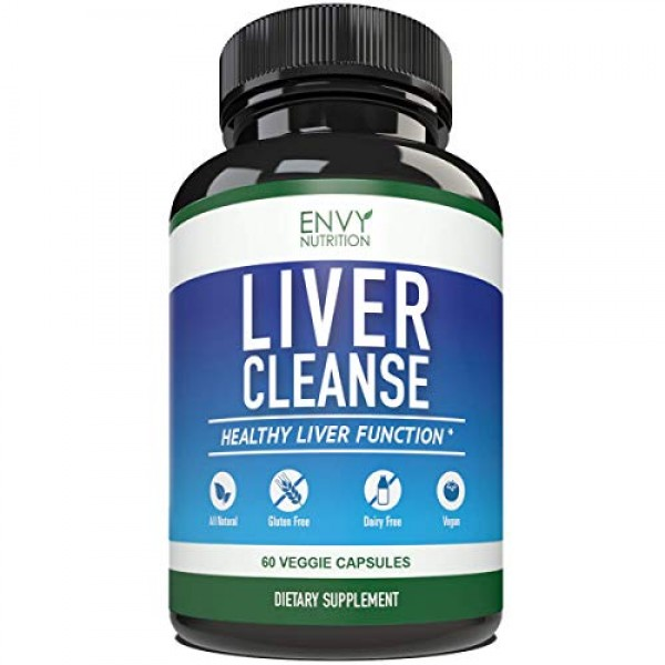 Liver Cleanse & Detox Supplement Formula - Milk Thistle Extracts ...