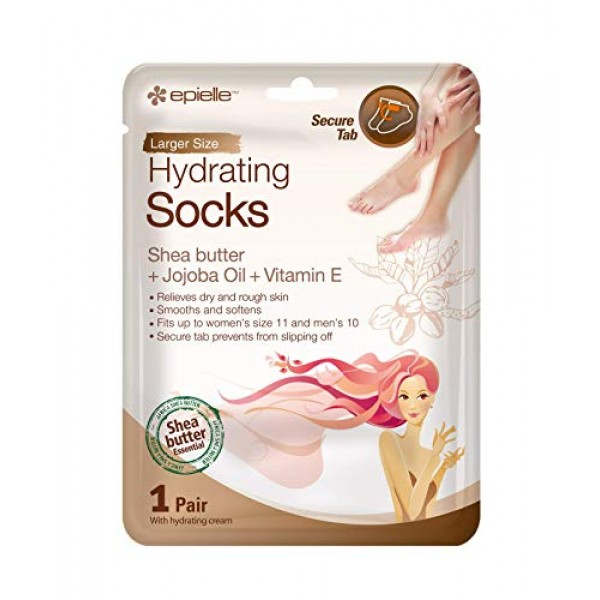 Epielle Hydrating Hand & Foot Masks Glove & Socks 12pk for Dry ...