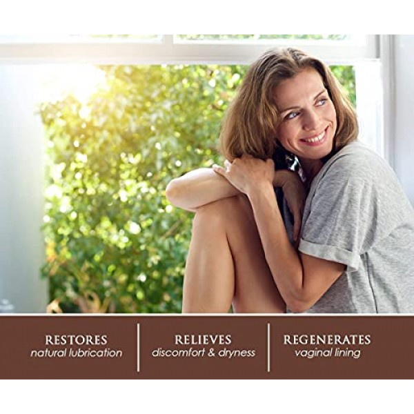 Femallay - Organic Vitamin E Vaginal Moisturizing Suppository Mel...