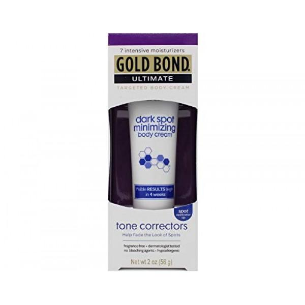 Gold Bond Ultimate Dark Spot Minimizing Body Cream 2 oz pack of 3
