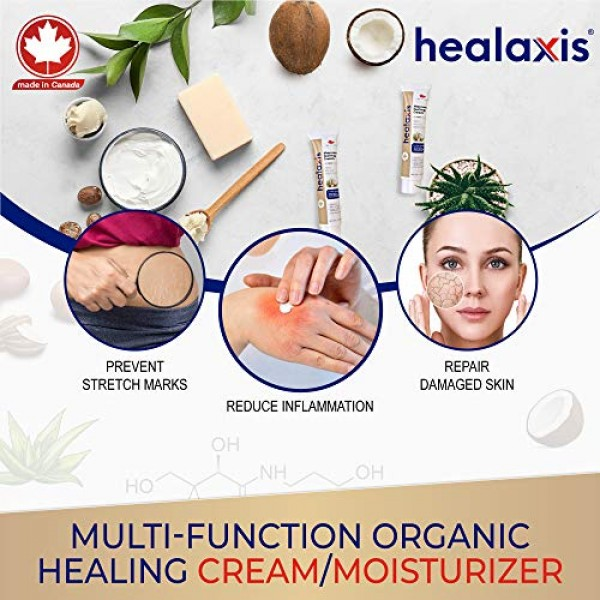 Healaxis Aftercare Healing Cream - Premium Tattoo Balm for Bright...
