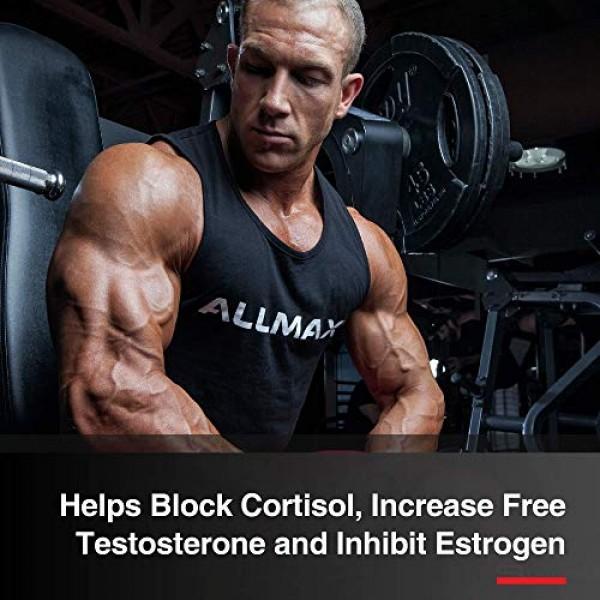 ALLMAX Nutrition TESTOFX Loaded, Male Testosterone Support, 90 Ca...