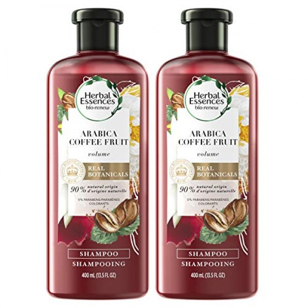 Bio:renew Arabica Coffee Fruit Shampoo, 13.5 fl oz Twin Pack Pac...