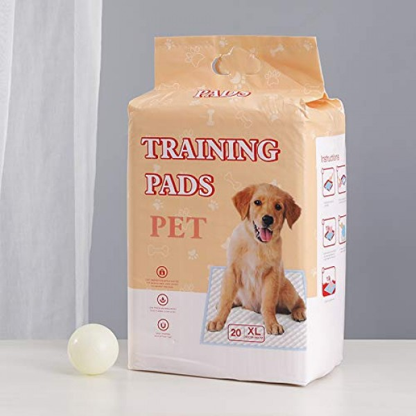 Dog Training Pad, Pet Pee Pads Puppy Cat Potty Pads Leak-Proof Qu...