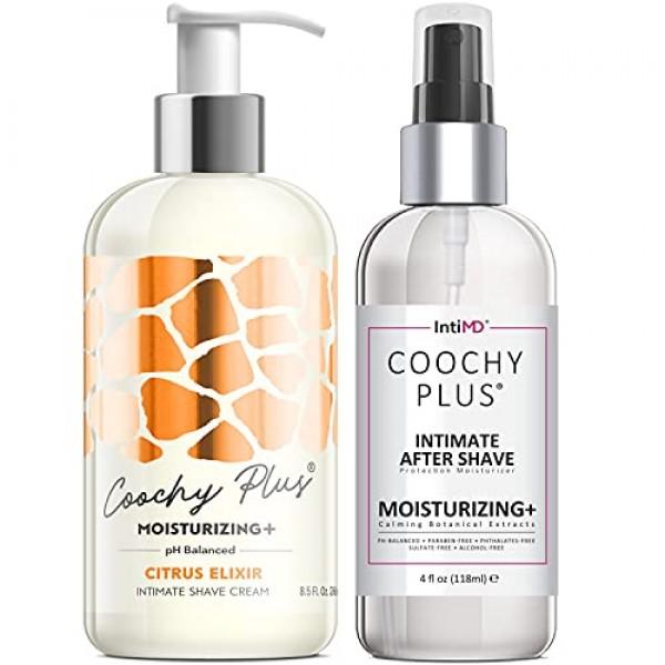 Coochy Plus Intimate Shaving Complete Kit - CITRUS ELIXIR & Organ...