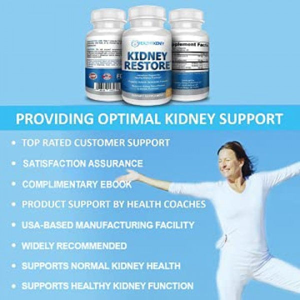 3 Pack Natural Kidney Cleanse to Support Kidney Function and Deto...