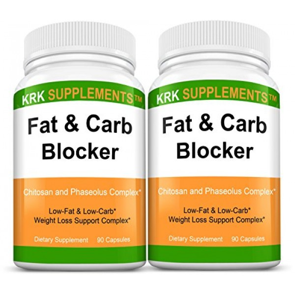 2 Bottles Fat and Carb Blocker with Phaseolus Vulgaris White Kid...