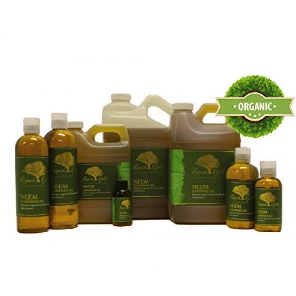 32 Fl.oz Premium Neem Oil Hair Growth & Scalp Skin Care Moisturiz...