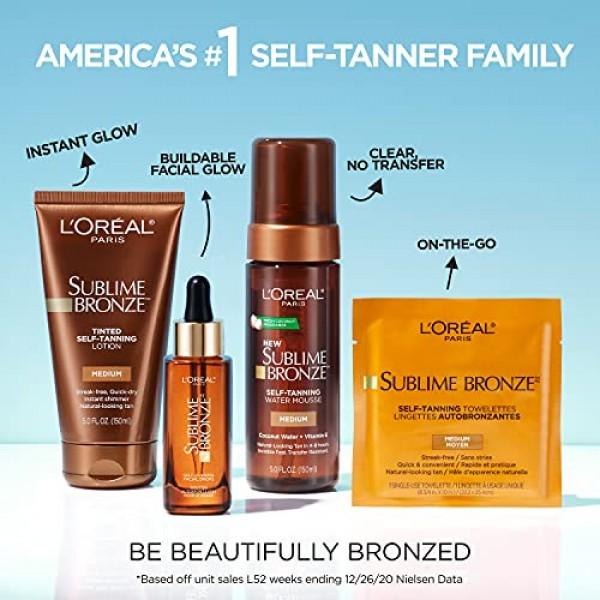 LOreal Paris Skincare Sublime Bronze Self-Tanning Towelettes, St...