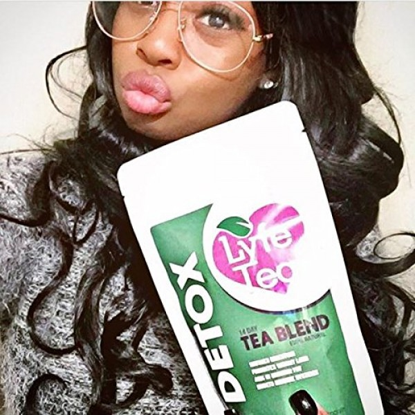 28 Day Detox Tea Only in Loose Leaf - Natural Cleanse Toxins, Soo...