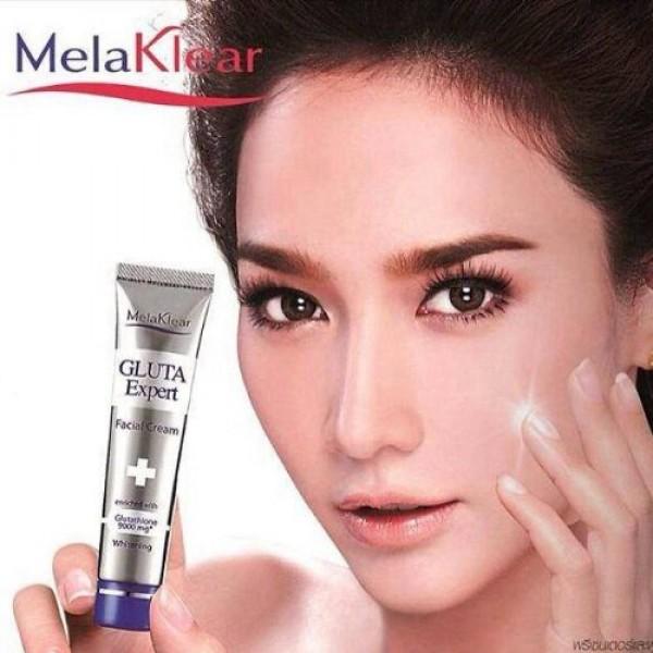 New melaklear gluta expert whitening facial cream glutathione 900...