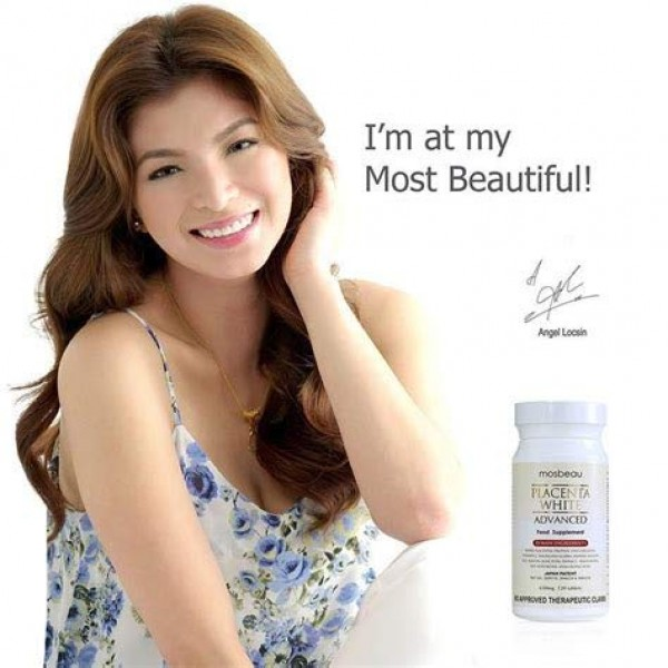 3 Bottles of Mosbeau Placenta White Advanced Whitening Tablets