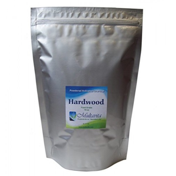 1 lb Hardwood Activated Charcoal Powder Premium Food Grade Made i...