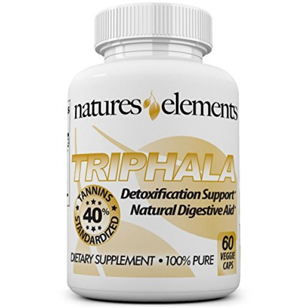 Triphala Extract - Natural Digestive Aid - Standardized Extract 4...