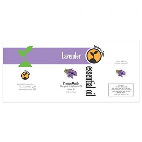 16oz - Bulk Size Lavender Essential Oil 16 Ounce Bottle Therape...