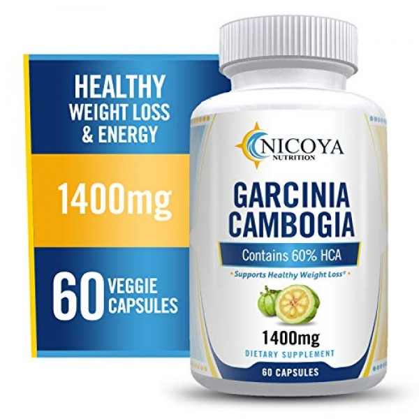 All Natural Garcinia Cambogia with HCA for Fast Fat Burn. Appetit...