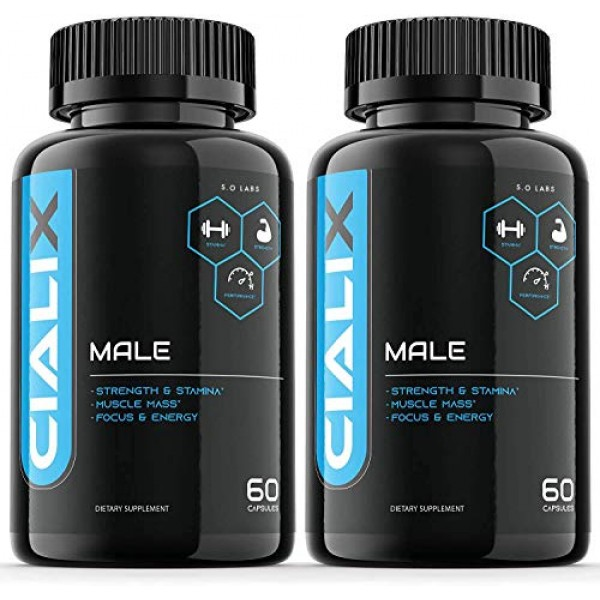 2 Pack Cialixs Pills for Men 120 Capsules