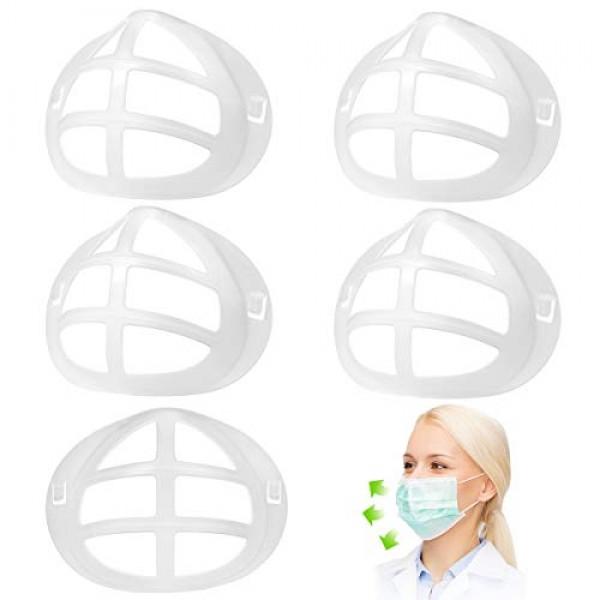 3D Mask Bracket-Food Grade Silicone PE Mask Holder-Create More Sp...