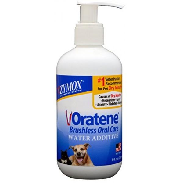 Zymox Oratene Biotene Drinking Water Additive Dental Care Pet Dog...