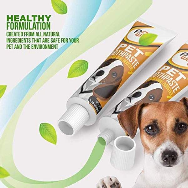 2 Pack Dog Toothpaste [Fights Bad Breath] Toothpaste for Dog & Ca...
