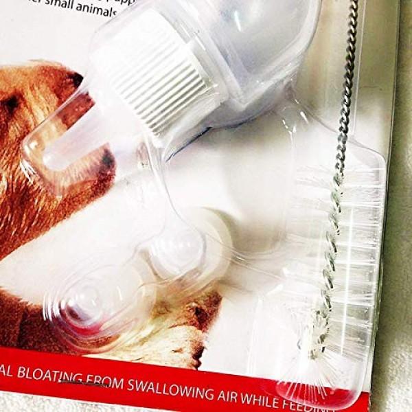 2 Set of Feeding Bottle Set for Pets, Hand Feeding kit for Nursin...