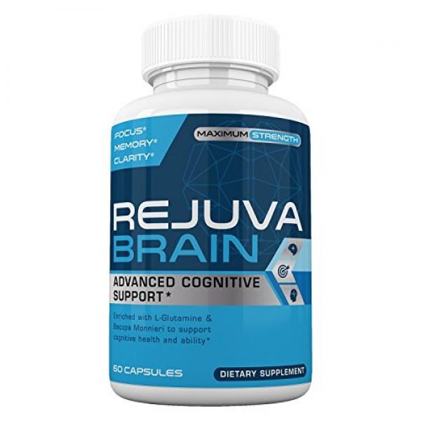 Rejuva Brain- Advanced Cognitive Support- Enriched w/L-Glutamine ...