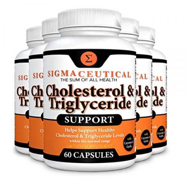 Cholesterol Lowering Product - Triglyceride Lowering Supplement -...