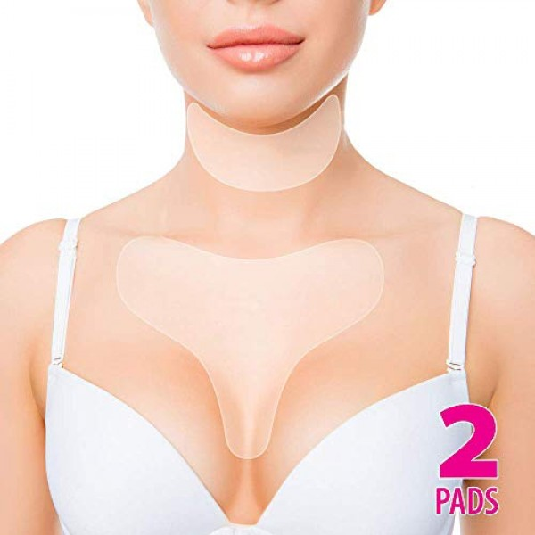 Anti Wrinkle Chest Silicone Pad, Resuable and 100% Medical Grade ...