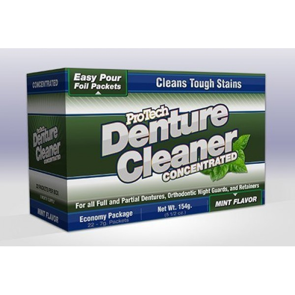 Protech Denture Cleaner 7g 22 Pack