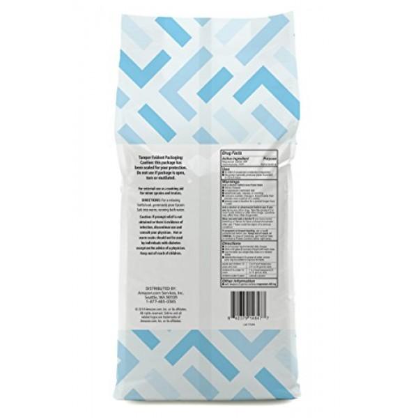 Amazon Brand - Solimo Epsom Salt Soak, Magnesium Sulfate USP, 8 P...