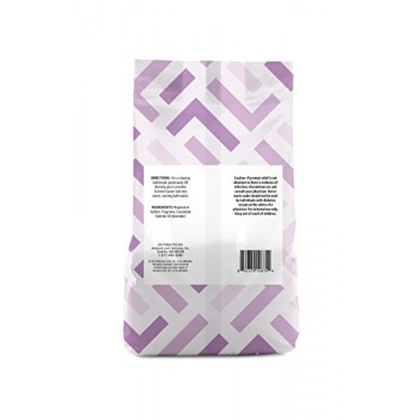 Amazon Brand - Solimo Epsom Salt Soaking Aid, Lavender Scented, 3...